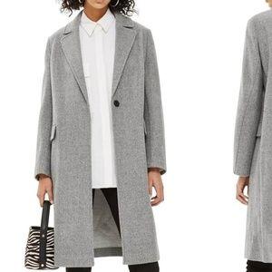 Topshop gray coat